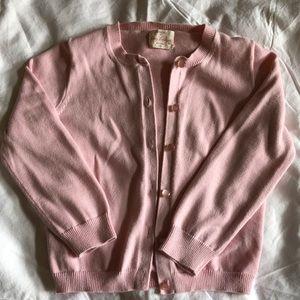 Crewcuts Pink Cardigan, Girls Size 4-5